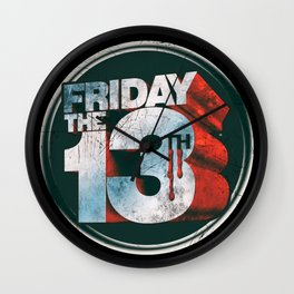 Friday The 13th - Jason Voorhees Wall Clock