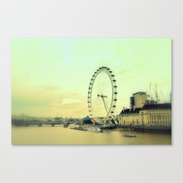 Impressions of London Canvas Print