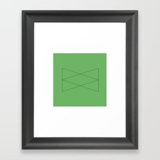 #52 Entity – Geometry Daily Framed Art Print