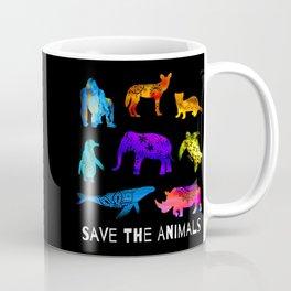 Save The Endangered Animals Coffee Mug