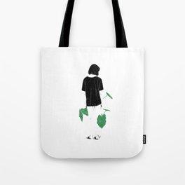 Amongst Green Tote Bag