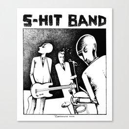 S-HIT BAND Canvas Print
