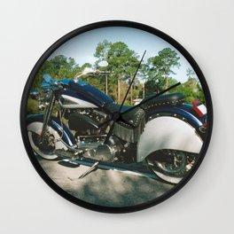 American Motorcycle Wall Clock