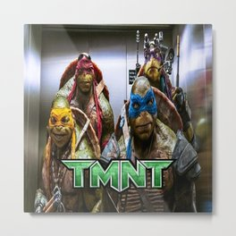ninja turtles  Metal Print