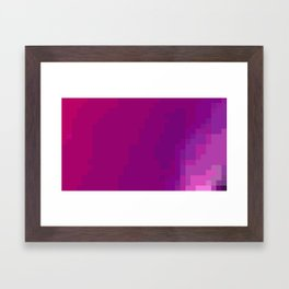 ABSTRACT PIXELS #0017 Framed Art Print