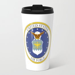 United States Air Force Coat of Arms Travel Mug