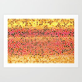 THINK HOT Art Print