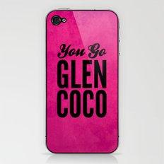 Glen Coco Pink iPhone & iPod Skin