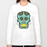 calavera Long Sleeve T-shirts featuring Calavera  by Cody Wilkes-Booth