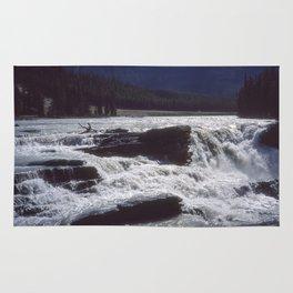 Athabasca Falls 2 Rug