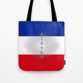Tricolore Bistro Tote Bag