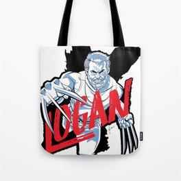 LOGAN clear Tote Bag