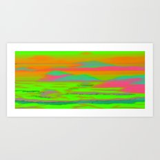 Sunset in the Realm Art Print