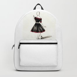 1950s gown Backpack