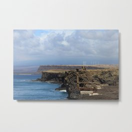 Southern Most Point of the United States Metal Print