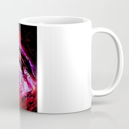 Abstract Red Storm by Robert S. Lee Coffee Mug