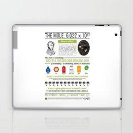 avogadro mole Laptop & iPad Skin