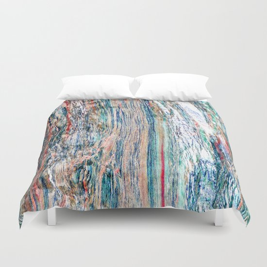 Colorful Mineral Duvet Cover