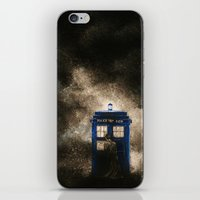 dr who iPhone & iPod Skins featuring Dr. Who by Redeemed Ink by - Kagan Masters