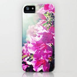 A Flare of Spring iPhone Case