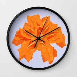 Day Lily Wall Clock