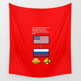 Repealed Obamacare Wall Tapestry