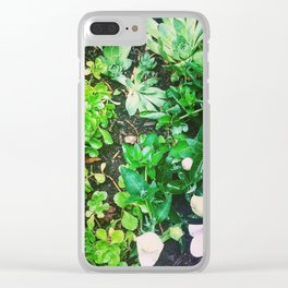 Almost a Garden Clear iPhone Case