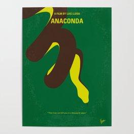 No979 My Anaconda minimal movie poster Poster