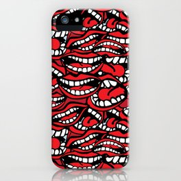 Chatty Pattern iPhone Case