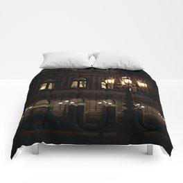 Dresden Nightlife Comforters
