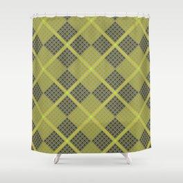 Fammable Pattern Shower Curtain