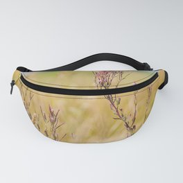 Two pink wildflowers Fanny Pack
