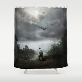Discovering Grace Shower Curtain