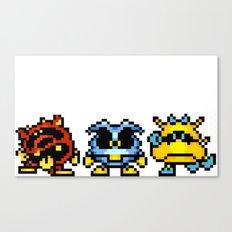 Dr. Mario Viruses Canvas Print