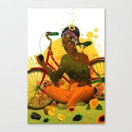 Essentia.Yellow Canvas Print