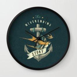 Anchor | Petrol Grey Wall Clock