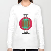 glass Long Sleeve T-shirts featuring Glass by Intton Godelg