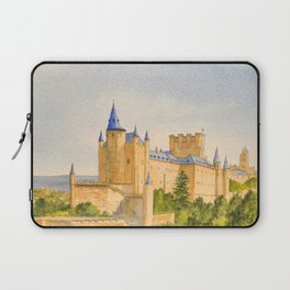 The Alcazar Segovia Spain Laptop Sleeve