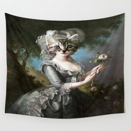 Pretty Kitty Wall Tapestry