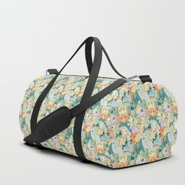 Cute Dino Pattern Duffle Bag