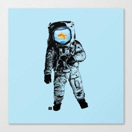 Goldfish Astronaut Canvas Print