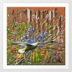 Seagulldream Art Print
