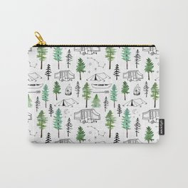 Camping and Trees Carry-All Pouch