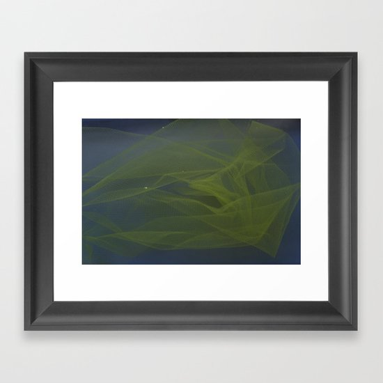 Into The Blue 1 Framed Art Print