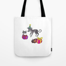 Pet party Tote Bag