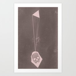 in-flight Art Print