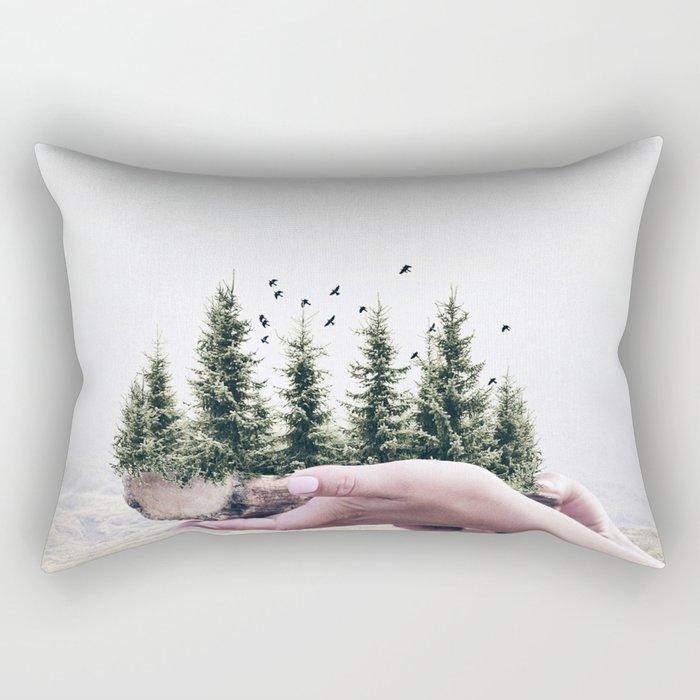 Save the Forest Rectangular Pillow