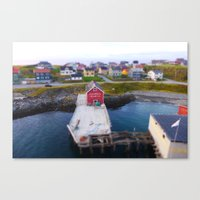 norway Canvas Prints featuring Norway by Les imprimés de Michèle