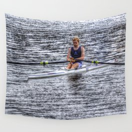 Single Scull Wall Tapestry