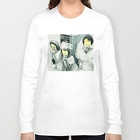 picasso Long Sleeve T-shirts featuring Painting Picasso by Marko Köppe